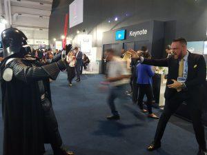 Luta do Bem contra o Mal! Oportunidade única que tive de enfrentar Darth Vader no Symposium Gartner de 2017